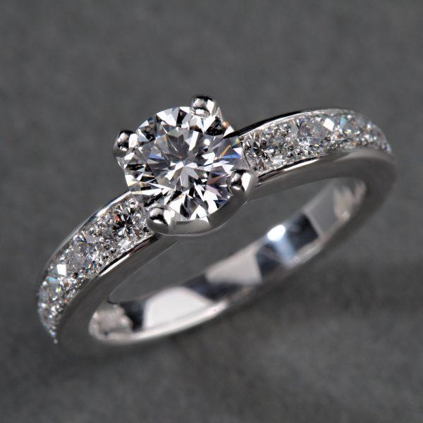 bague diamant alliance