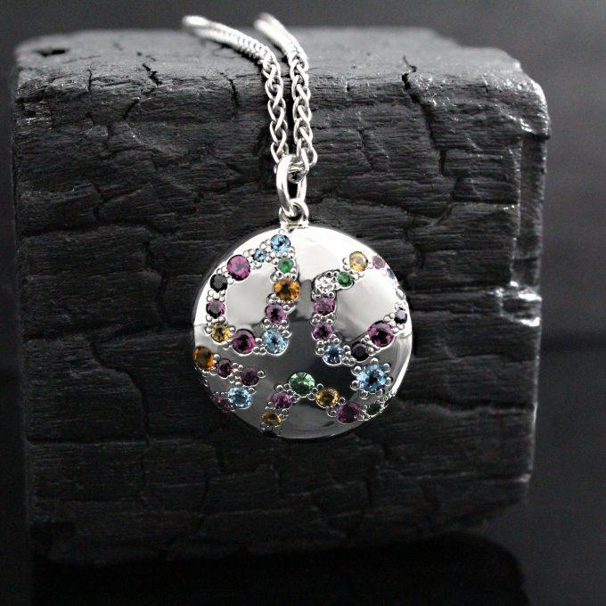 Caroline Savoie Joaillerie Pendentif Bonbon Bijoux Faits Main Joaillier Quebec Montreal Handmade Jewellery Candy Pendant Colorful (7)