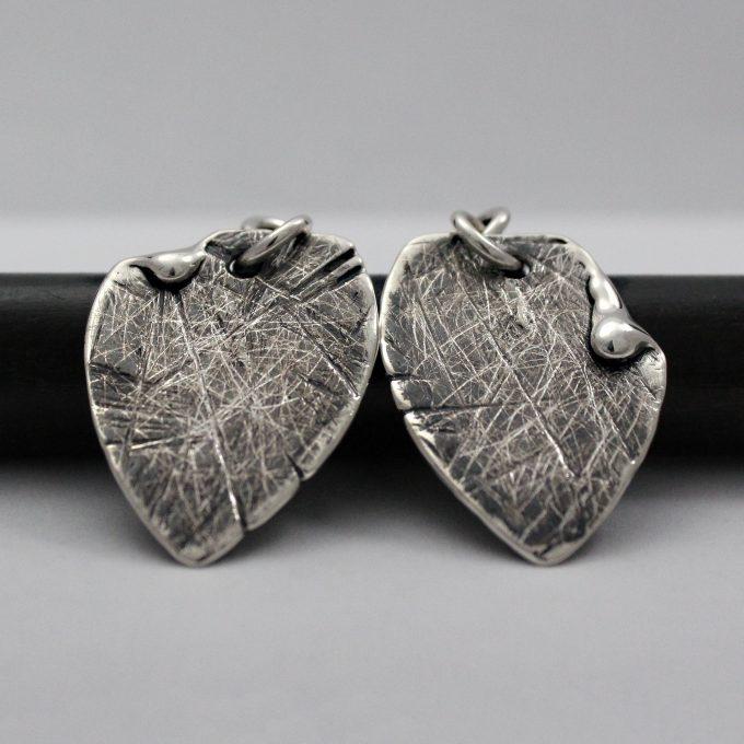 Caroline Savoie Joaillerie Boucles d'oreilles Petales Bijoux Fait Main Quebec Montreal Handmade Earrings Jewelry Designer (1)