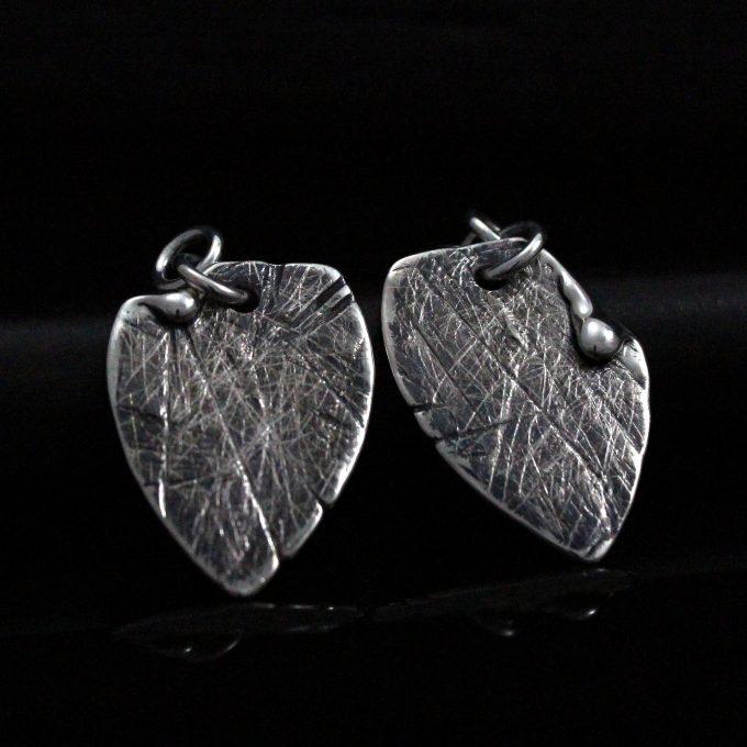 Caroline Savoie Joaillerie Boucles d'oreilles Petales Bijoux Fait Main Quebec Montreal Handmade Earrings Jewelry Designer (5